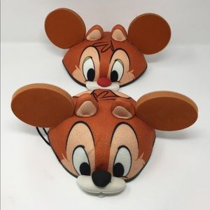 Pair of Chip'n'Dale Mickey ears.